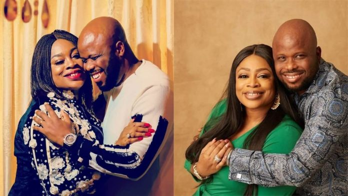 Some men of God now rely too much on science - Sinach and husband