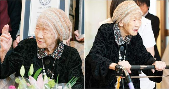 116-year-old Japanese woman
