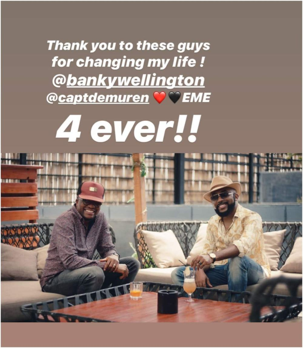 Banky W and Tunde Demuren