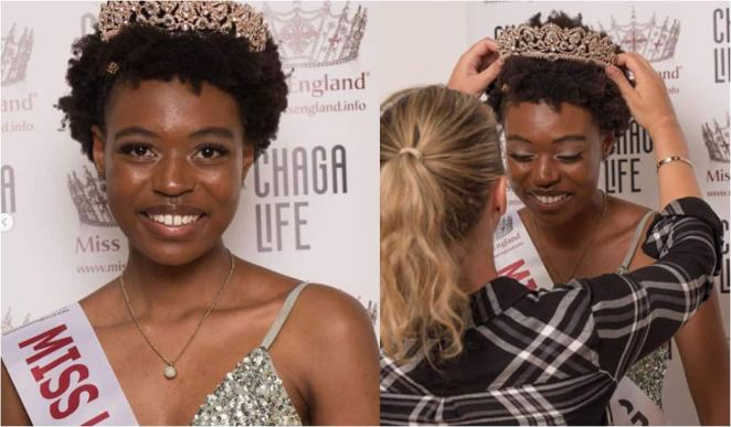 Image result for Zimbabwean Girl becomes the first Black person to Win Miss London Pageant