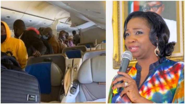 109 victims of human trafficking arrive Nigeria - Abike Dabiri