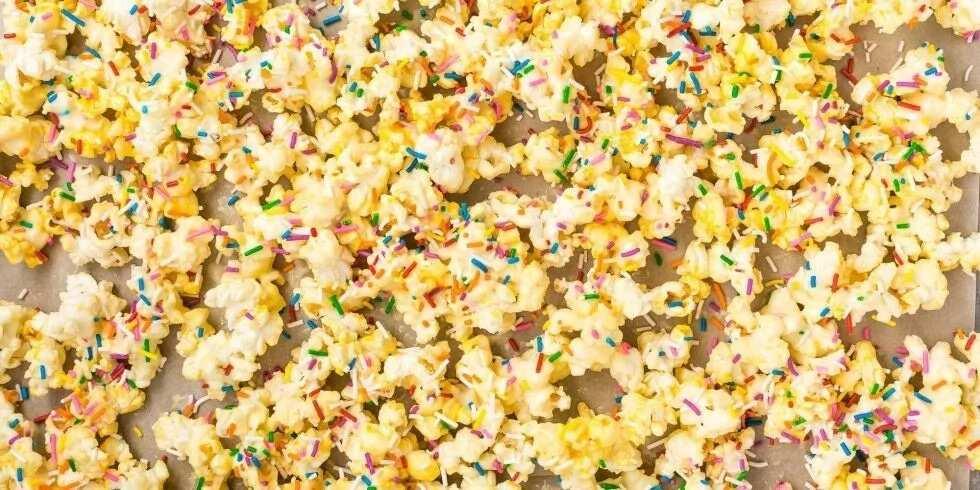 Popcorn production