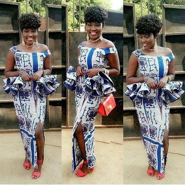 Fashion in Nigerian traditional styles - Ankara 3