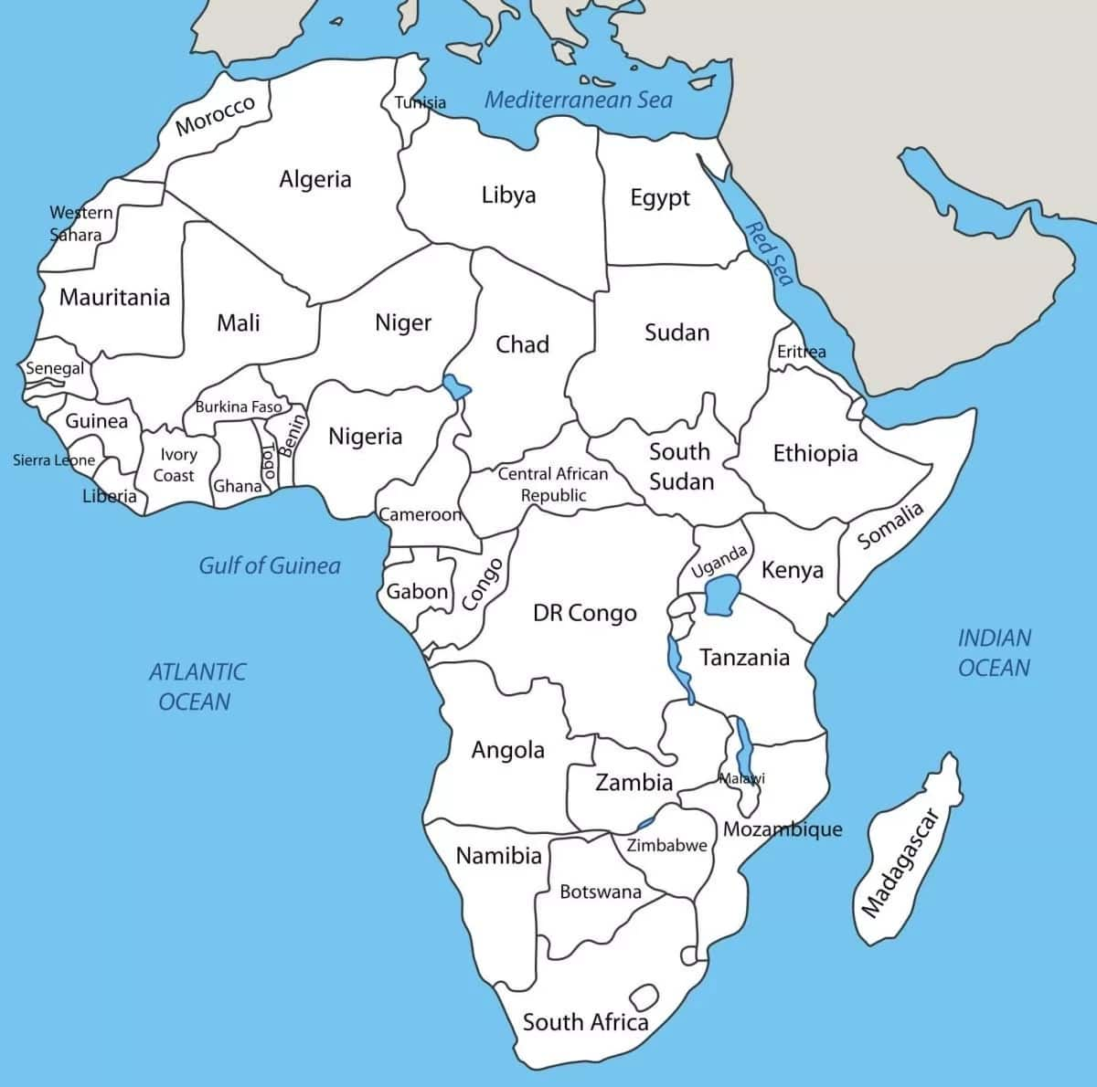 Largest Country In Africa By Size And Population Legit