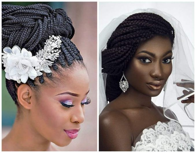 ways to pack braids for a wedding ▷ legit.ng