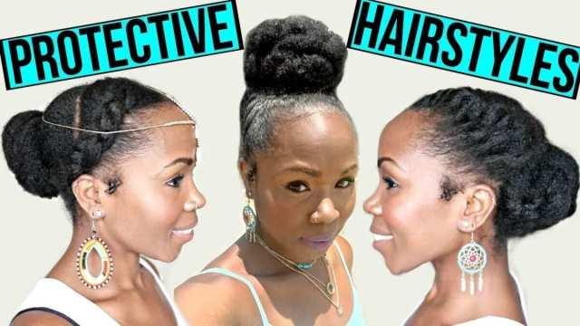 protective natural hairstyles for medium length hair ▷ legit.ng
