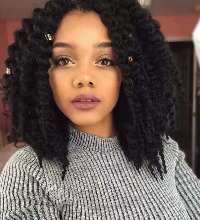 top 30 black natural hairstyles for medium length hair in