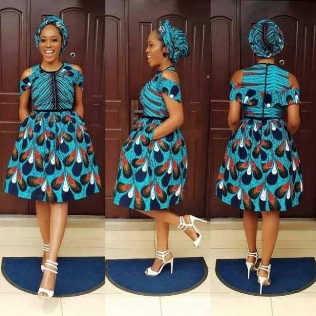 Fashion in Nigerian traditional styles - Ankara 1