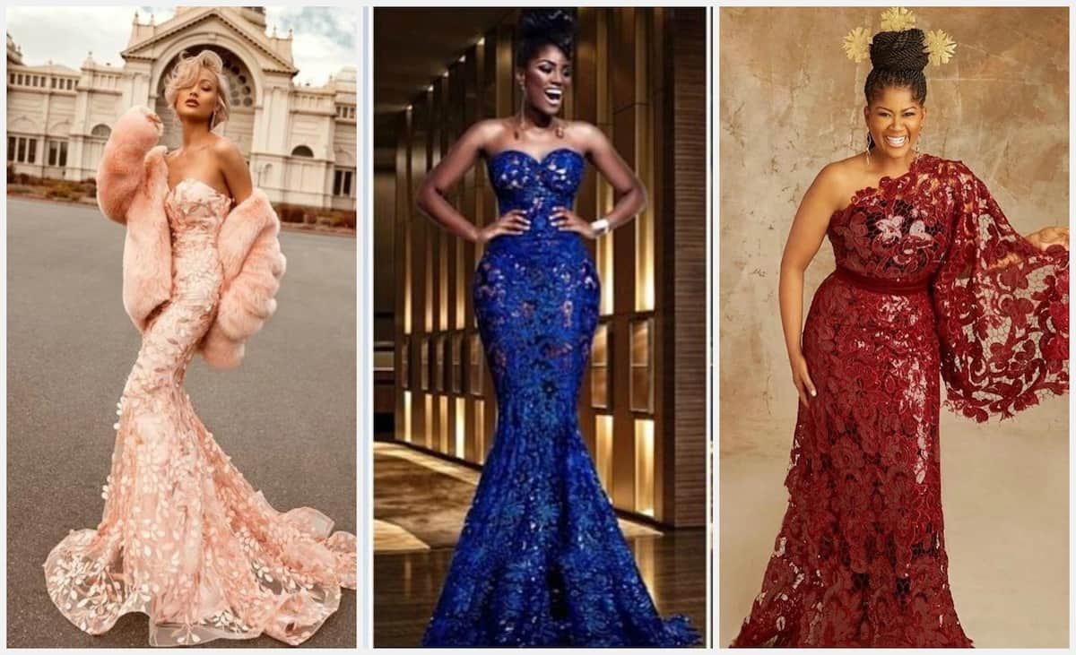Nigerian Lace Styles For Wedding In 2018 Legit.ng