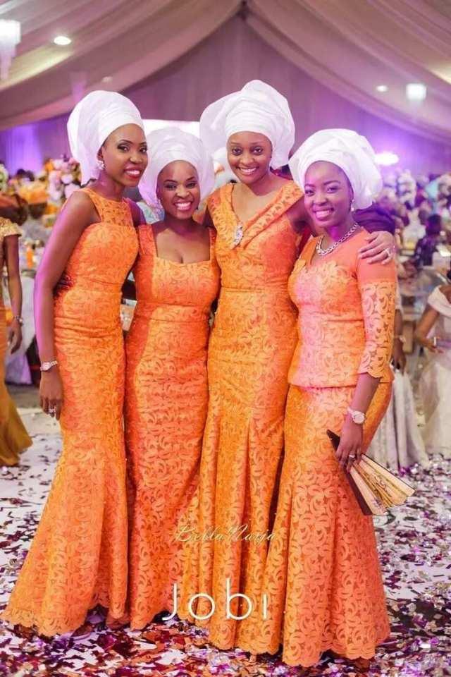 Yoruba traditional wedding attire