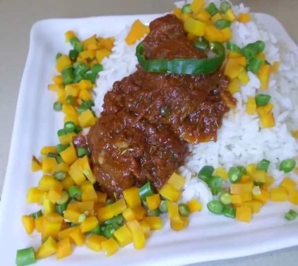 Rice with vegetables top 10 Nigerian dishes for dinner