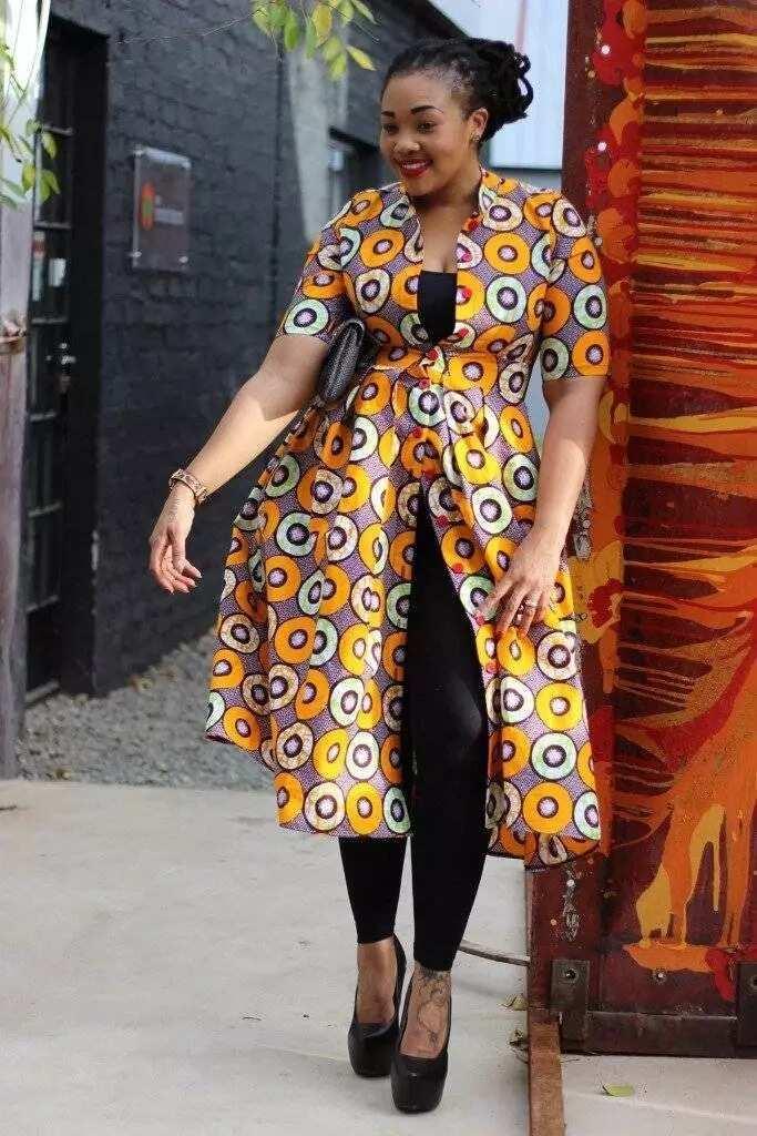Latest Ankara styles for plus size ladies