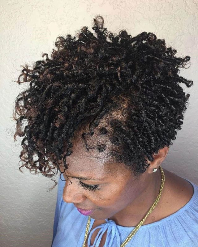 20 cute kinky twist hairstyles for short hair ▷ tuko.co.ke