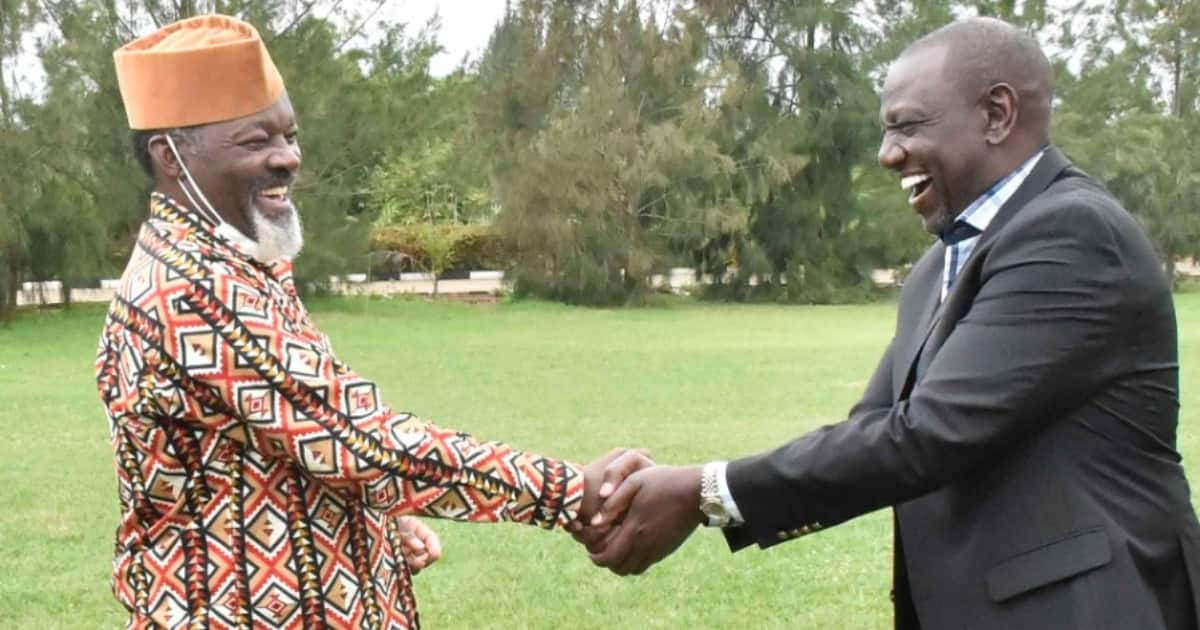William Ruto meets council of elders led by Uhuru's cousin Muigai