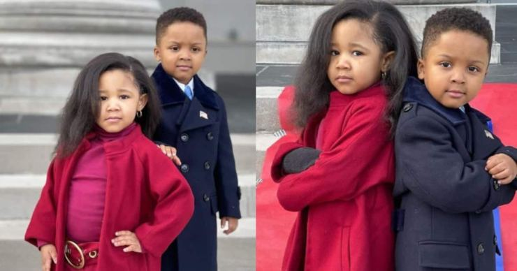 """Michelle Obama commends kids who copied her inauguration outfit: """"You nailed it"""""""