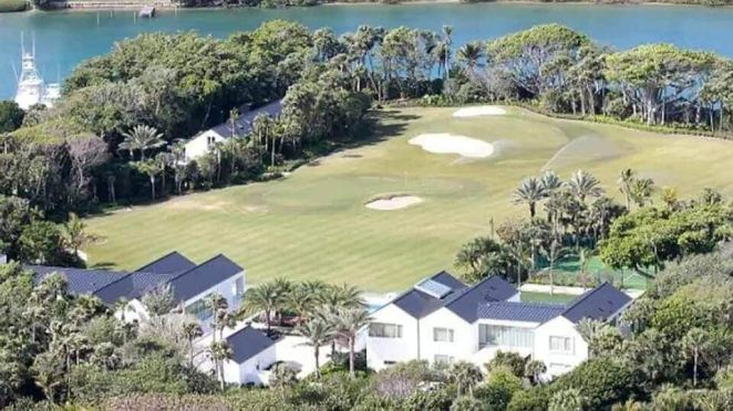 Inside Tiger Wood's expensive £41million home complete with golf course, restaurant and cinema theatre