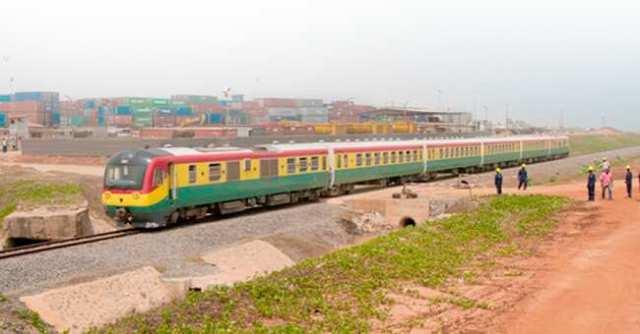 A Ghanaian train