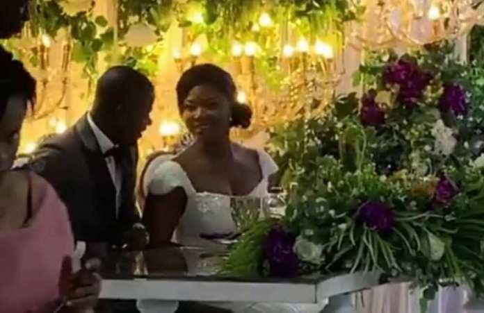 4 powerful photos from Jonathan Mensah's wedding