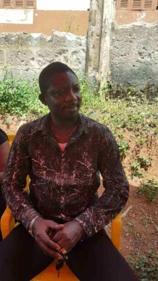 Photos: Kumawood stars visit Abass Blinkz's family before his burial