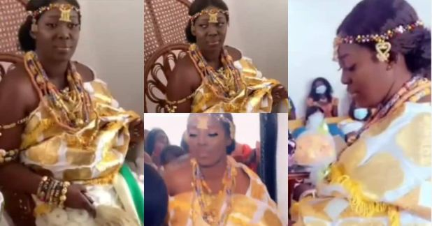 Videos pop up as Funny Face's ex-wife remarries in beautiful traditional ceremony
