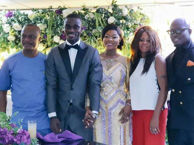 4 powerful photos from Jonathan Mensah's wedding