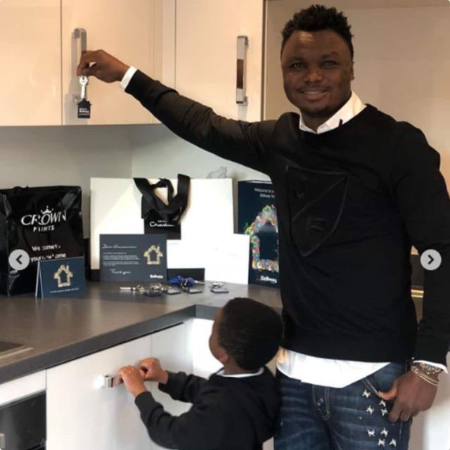 Dominic Adiyiah buys GHC1.8m mansion in London (Photos, video)