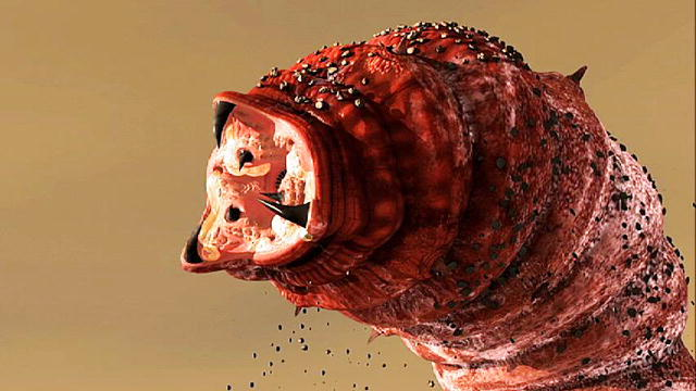 Mongolian Death Worm, death, worm, red, monster, creature, villain, legend, storytelling, reading,