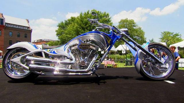 Trusted Choice Bike Unveil American Chopper Discovery