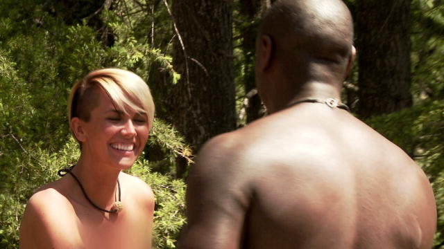Naked and afraid unblurred boobs