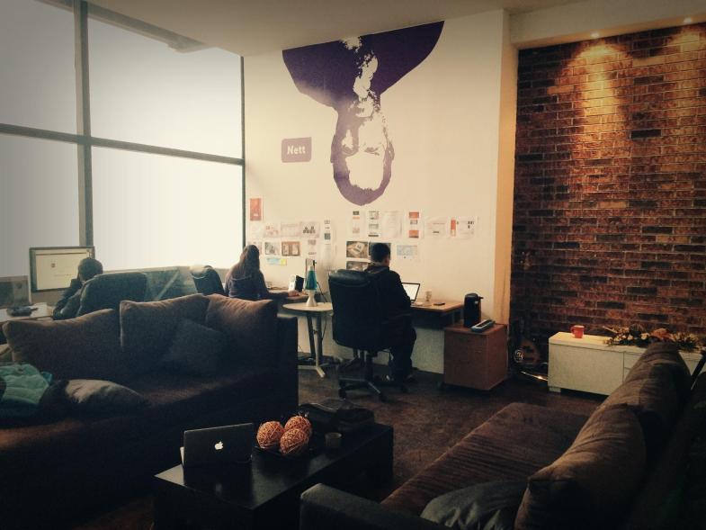 Nuestra primera oficina en el 2014