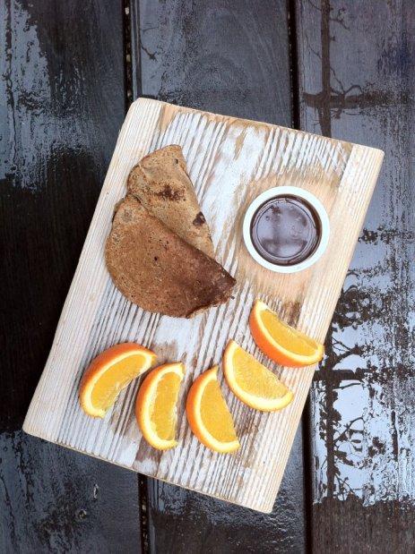 תפוזים בטעם של פעם פנקיק משאור ושוקולד פרא לטבילה