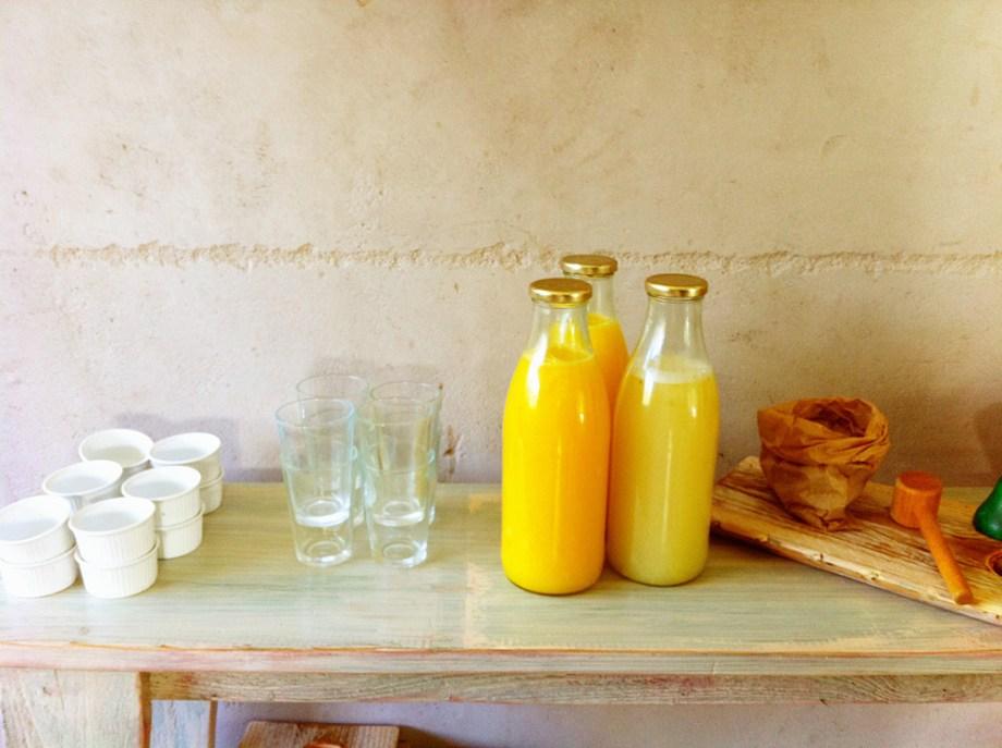 מיצים טבעים בחורף היה לנו תפוז קלמנטינה ופומלה