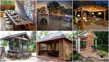 Stilvoll grillen einen Grillplatz im Garten gestalten ...
