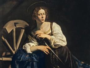 Catherine of Alexandria_caravaggio