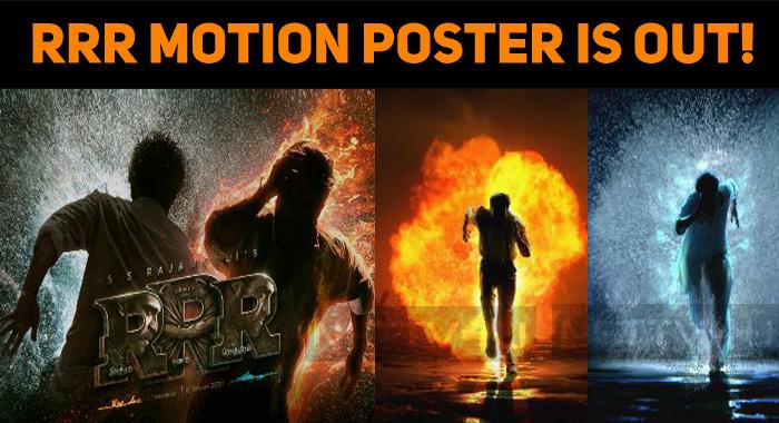 Roudram-Ranam-Rudhiram RRR Motion Poster