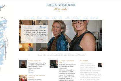 Imagestylisten.no (skjermdump 2013)