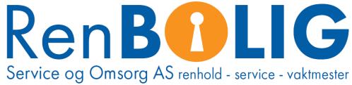 RenBOLIG logo med beskrivelse første utkast