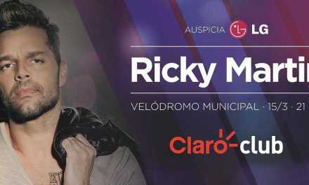 Claro invita a sus clientes a disfrutar del show de Ricky Martin