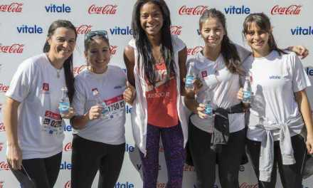 Vitale acompañó la Carrera de las Mujeres hidratando a sus más de 2.500 participantes