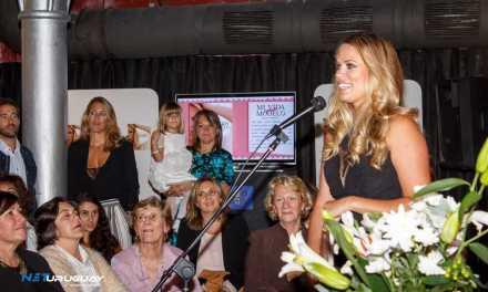 """Katja Thomsen realizó el lanzamiento de su libro """"Mi vida como modelo"""""""