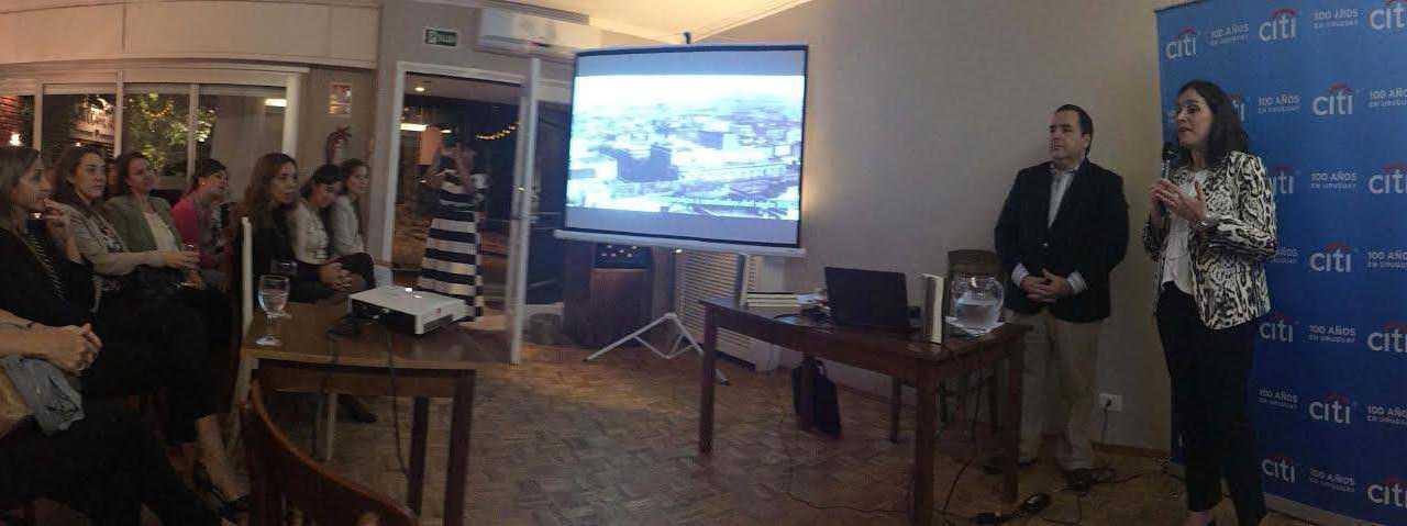 Citi celebró el Mes de la Mujer a través de cuatro grandes uruguayas Carlota, Delmira, Juana y China