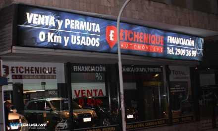 Etchenique Automóvies estrenó nuevo local en Mercedes y Germán Barbato -Montevideo-