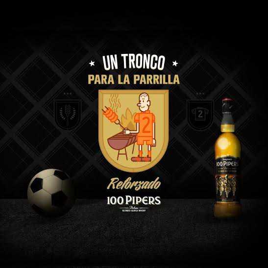 """100 Pipers presenta """"Un Tronco para la Parrilla, reforzado"""""""