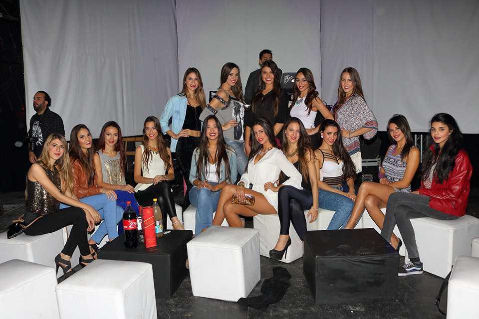 Finalistas a Miss Mundo Uruguay se presentaron al público en Montevideo Music Box