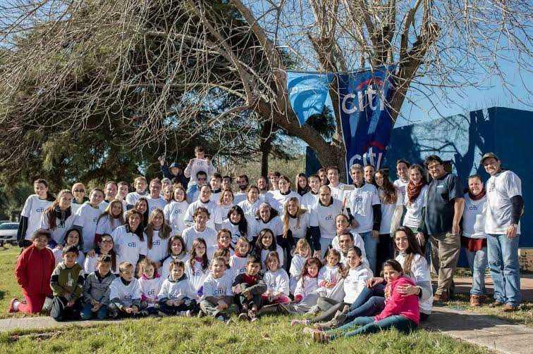 CITI URUGUAY VISITA ALDEAS INFANTILES PARA CELEBRAR UN NUEVO DÍA GLOBAL DE LA COMUNIDAD
