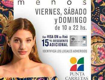 Punta Carretas Shopping invita a un fin de semana de descuentos