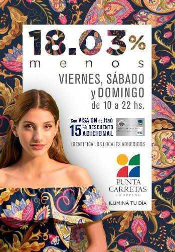 Punta Carretas Shopping invita a un fin de semana de descuentos