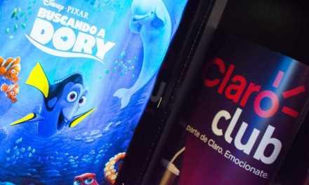 """Claro Club celebró las vacaciones de invierno con una función exclusiva de """"Buscando a Dory"""""""