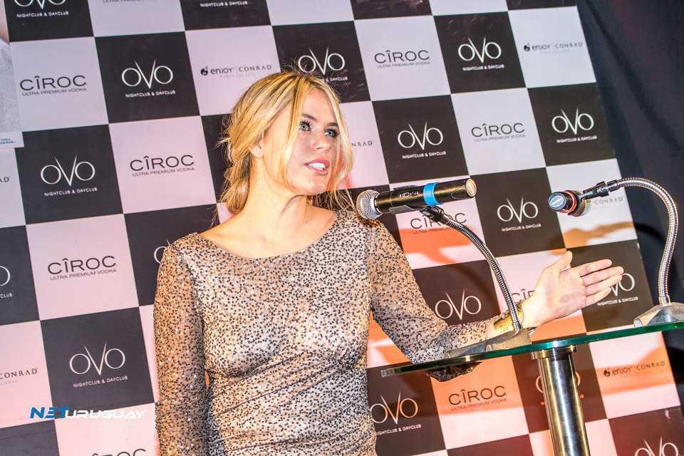 Katja Thomsen presentó en OVO Day Club su libro «Mi vida como modelo»