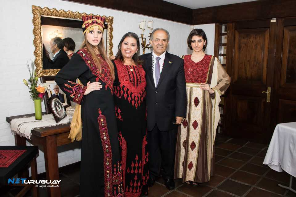 Mujeres a Contracorriente visitó la Embajada Palestina
